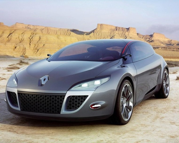 "Ženeva 2008: koncepcinio ""Renault Megane Coupe"" debiutas"