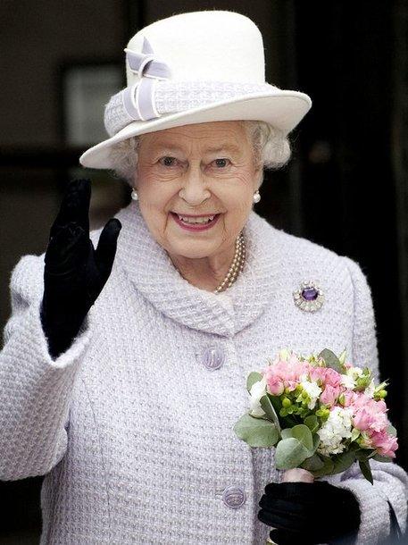 Didžiosios Britanijos karalienė Elizabeth II