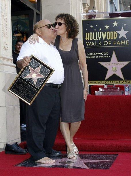 Danny DeVito su žmona Rhea Perlman
