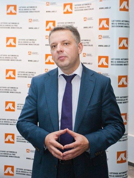 Susisiekimo ministras Eligijus Masiulis