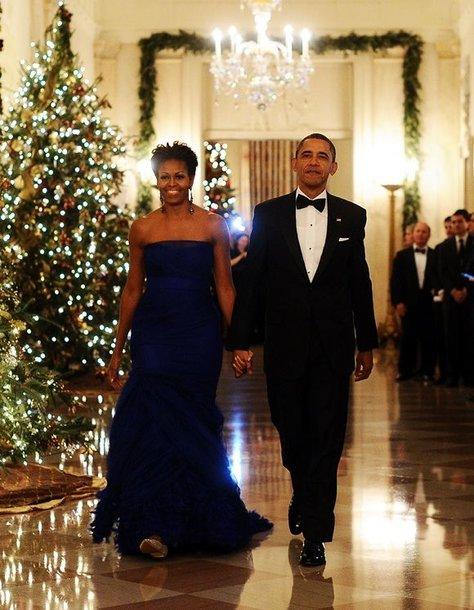 JAV prezientas Barackas Obama ir Michelle Obama