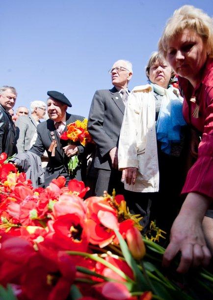 Vilniuje antakalnio kapinėse prisimintos Antrojo pasaulinio karo aukos