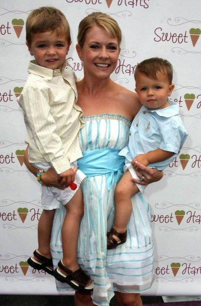 Melissa Joan Hart su vaikais