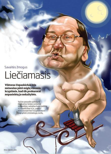 Viktoras Uspaskichas – jau liečiamasis