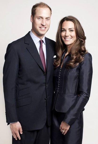 Princas Williamas ir Kembridžo hercogienė Catherine (2011-ųjų spalį)