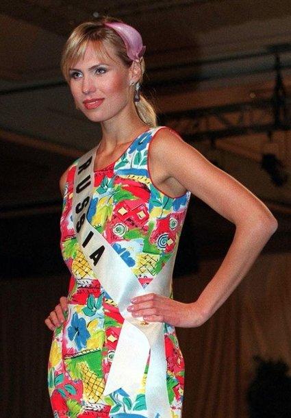 Mis Rusija 1998 Ana Malova