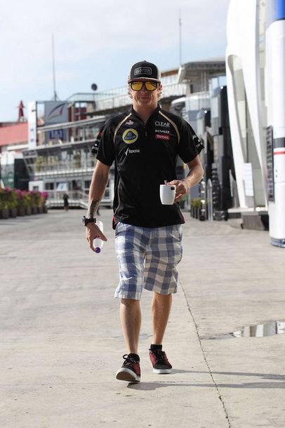 """Kimi Raikkonenas, """"Lotus Renault"""""""