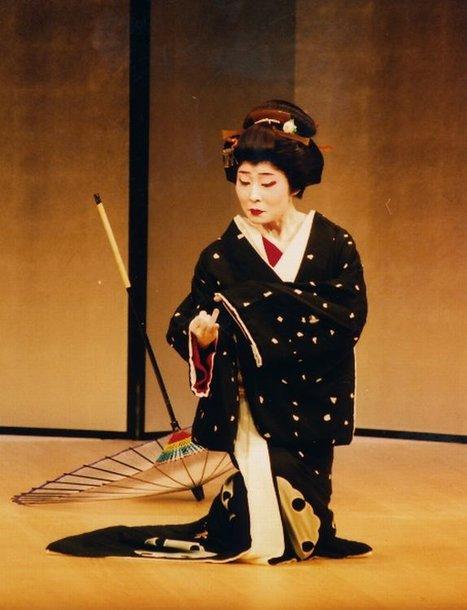 Japoniškas moterų šokis Džiutamai