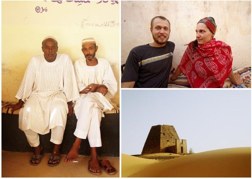 Sudanas kuprinėtojų akimis
