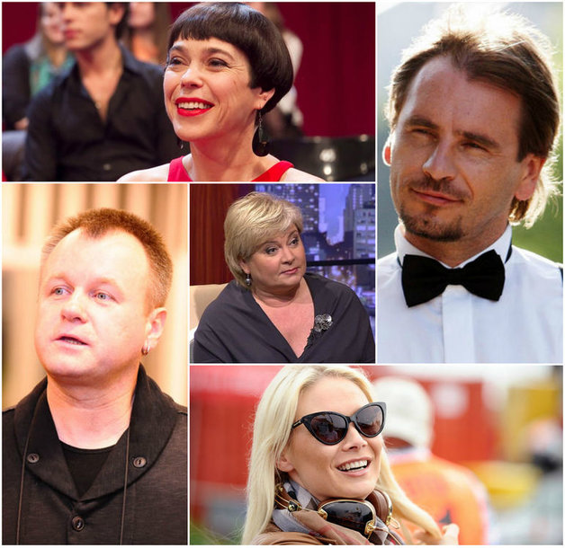 Nomeda Marčėnaitė, Marijonas Mikutavičius, Saulius Urbonavičius, Edita Mildažytė ir Natalija Bunkė
