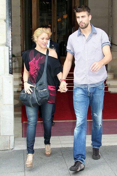 Ispanijos rinktinės gynėjo Gerardo Pique draugė, kolumbiečių dainininkė Shakira