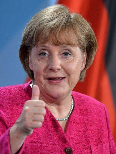 1 vieta – Vokietijos kanclerė Angela Merkel