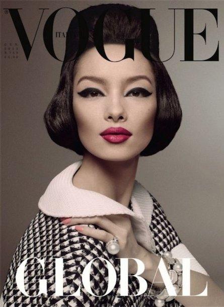 "Manekenė Fei Fei Sun ""Vogue Italia"" žurnale"