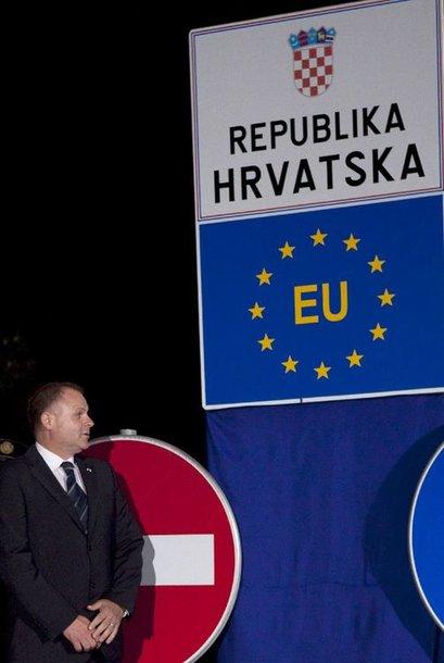 Kroatijos įstojimo į ES šventė