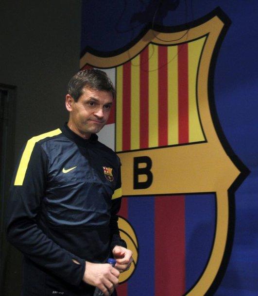 """Barcelona"" treneris Tito Vilanova"