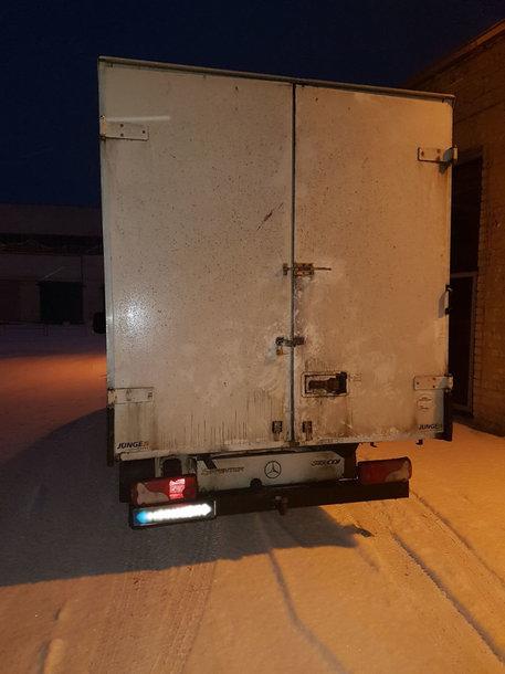 Sulaikytas sunkvežimis