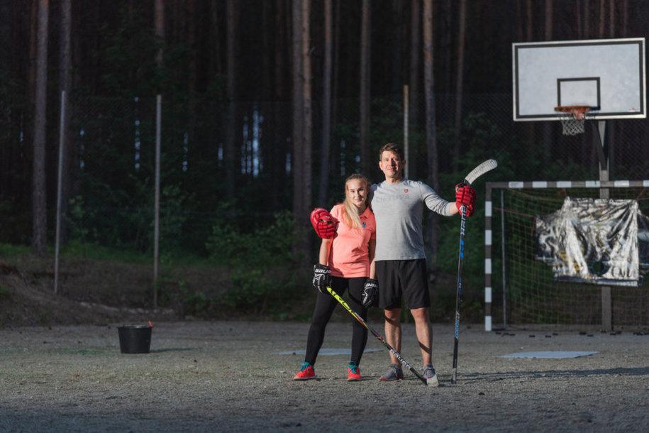 Rugilė ir Linas Paražinskai