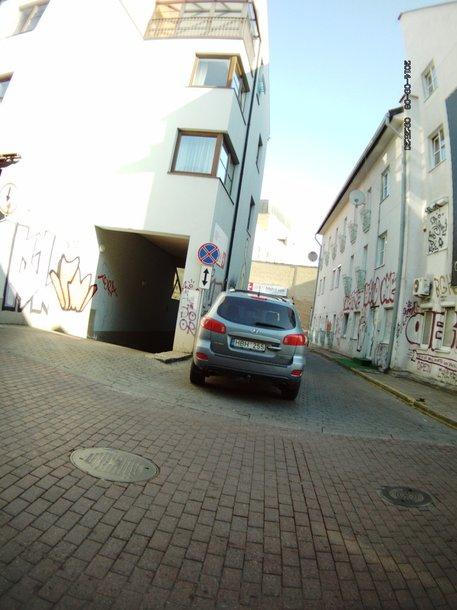 KET pažeidimai Vilniuje