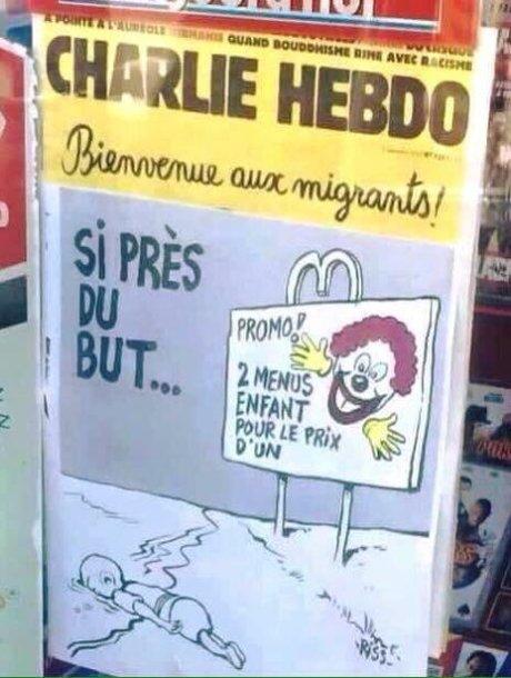 """Charlie Hebdo"" karikatūra"
