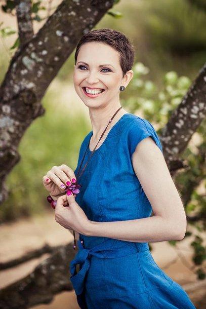 Krūties vėžį įveikusi Aksana
