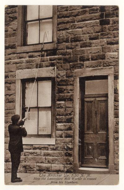 XX a. pradžios atvirukas, vaizduojantis baladotoją