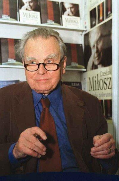 Poetas Czeslawas Miloszas
