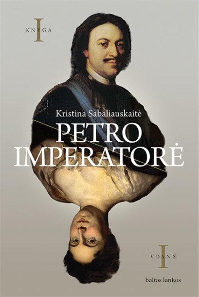 """Knygos """"Petro imperatorė"""" viršelis"""