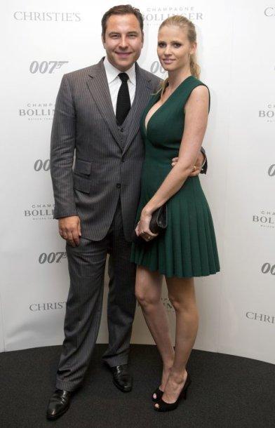 Manekenė Lara Stone su vyru Davidu Walliamsu