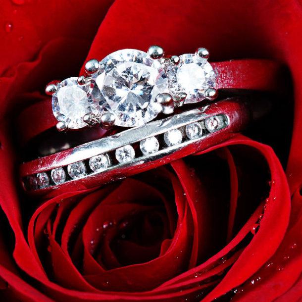 Žiedai.