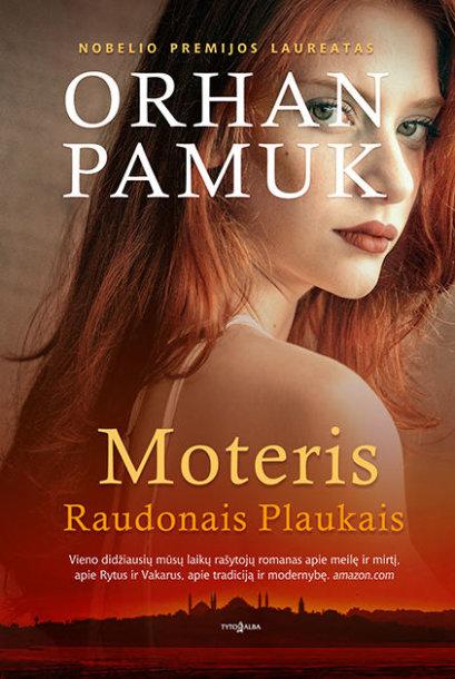 Knyga Moteris raudonais plaukais