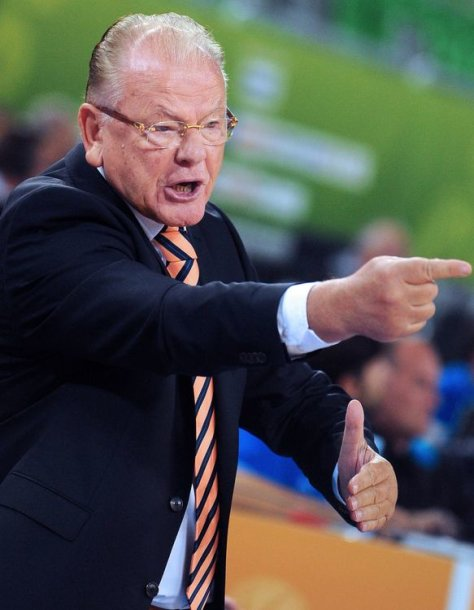 Serbijos krepšinio rinktinės treneris Dusanas Ivkovičius