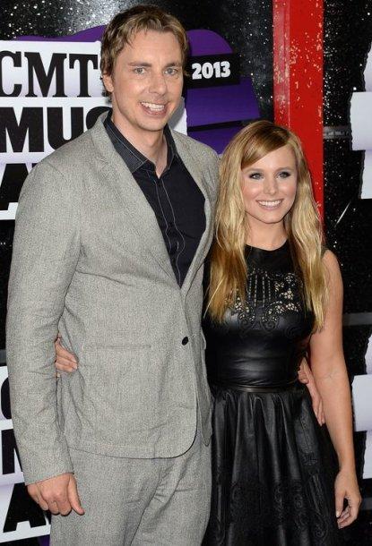 Daxas Shepardas ir Kristen Bell