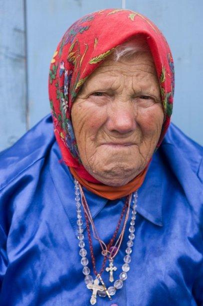 Pensininkė Rusijoje