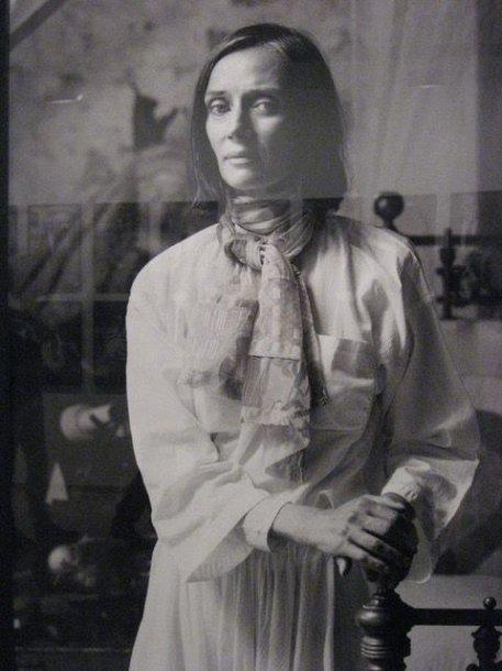 Niki de Saint Phalle portretas