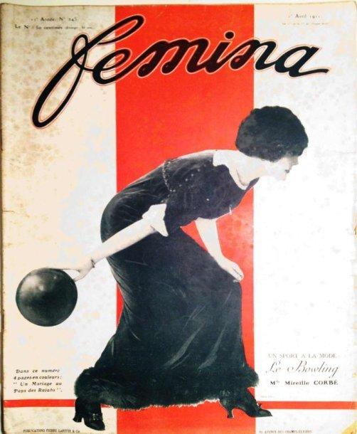 Žurnalo Femina viršelis, 1911 m.