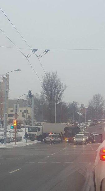 Avarija Kalvarijų gatvėje