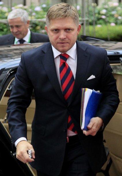 Slovakijos ministras pirmininkas Robertas Fico