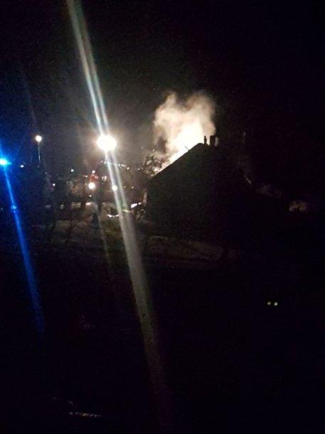 Per gaisrą Radviliškio rajone žuvo žmogus
