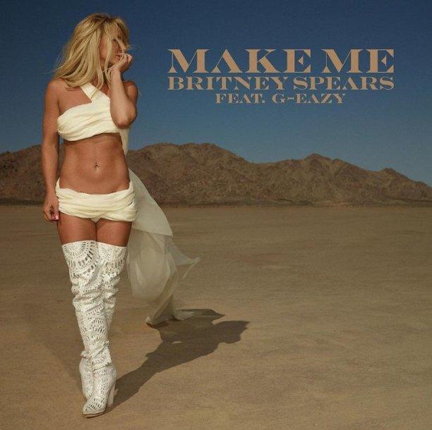 """Britney Spears singlo """"Make Me"""" viršelis"""
