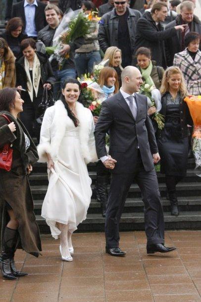 Foto naujienai: Algirdas Radzevičius ir Milisandra Kvaraciejūtė: santuoka ar vestuvės?