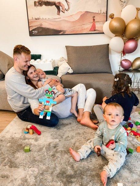 L.Mazalienė karantino metu su vaikais nenuobodžiauja – kuo sudomina mažuosius?
