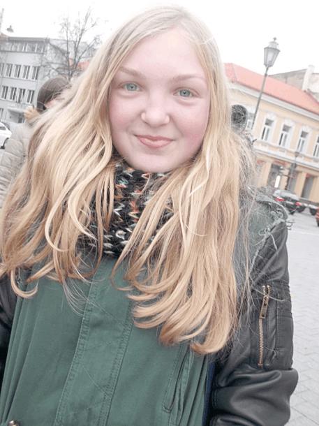 Lietuvos policija dėkoja Auksei
