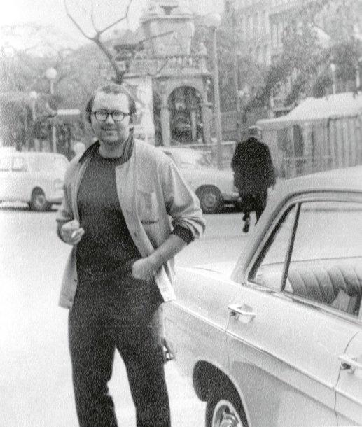 D.Katkus Vokietijoje. Nuotrauka iš asmeninio archyvo