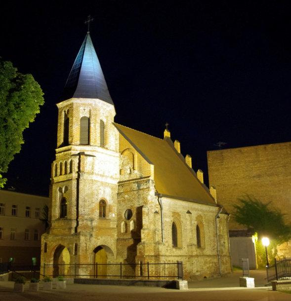Gertrūdos bažnyčia. Organizatorių nuotr.