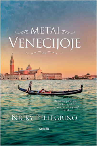 """Knyga """"Metai Venecijoje"""""""