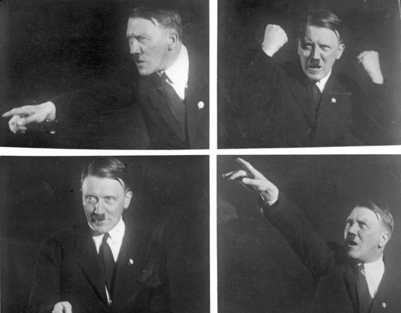 Gestikuliuojantis Adolfas Hitleris (1930 m.)