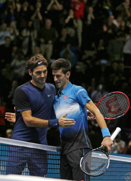 Rogeris Federeris ir Novakas Džokovičius