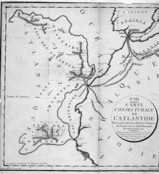 Atlantidos žemėlapis