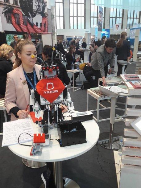Vilniaus vaikų sukonstruotas robotas