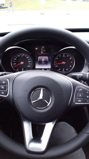"""Mercedes-Benz A 45 AMG"" prietaisų skydelis"